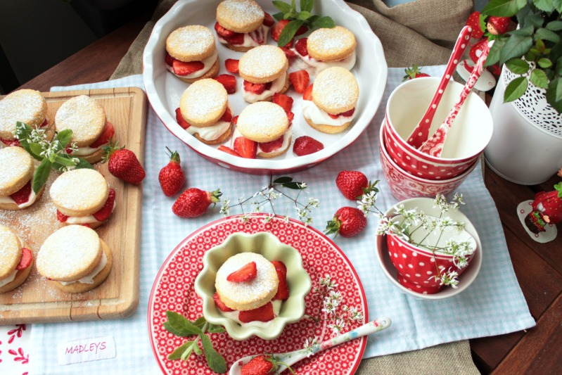 Leckere Strawberry Shortcakes 8