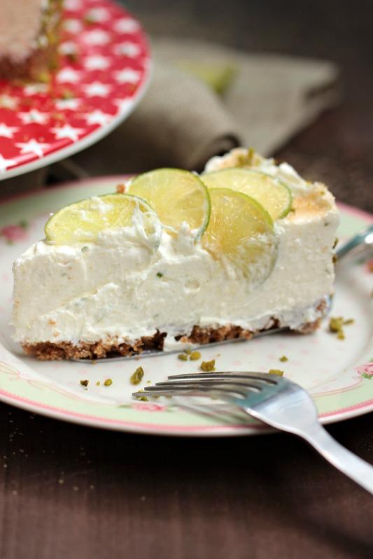 Caipirina Torte oder No-Bake Limetten Schmandtörtchen 44