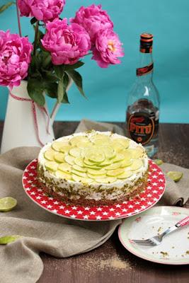 Caipirina Torte oder No-Bake Limetten Schmandtörtchen 36