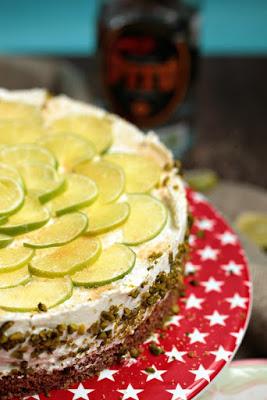 Caipirina Torte oder No-Bake Limetten Schmandtörtchen 41