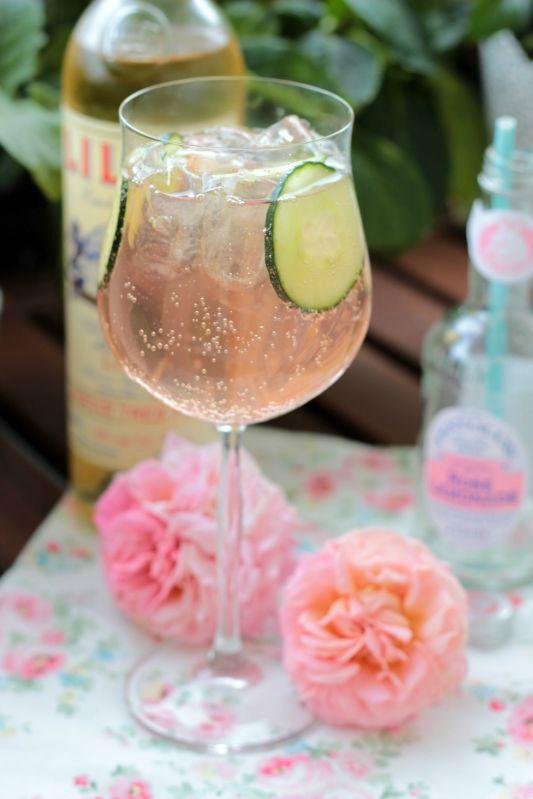Lillet-Waldbeeren Charlotte und eine kleine Lillet Cocktail Party mit 5 Rezepten 43