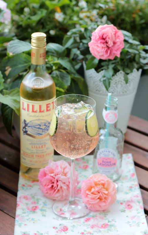 Lillet-Waldbeeren Charlotte und eine kleine Lillet Cocktail Party mit 5 Rezepten 60