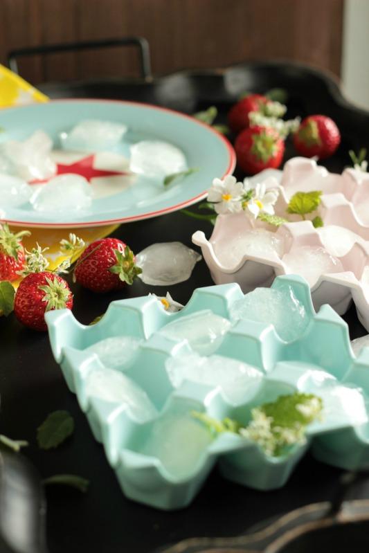 Eis am Stiel - Erdbeer Vanille und Kirsch Banane 35