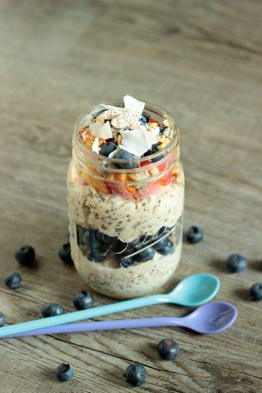 Gesundes Frühstück - Smoothies,Quesadillas und Overnight Oats 4