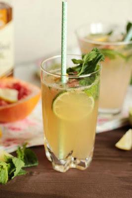 Cocktail Rezepte - Mojito Mocktail und Ballantines Brasil Highland Samba 1