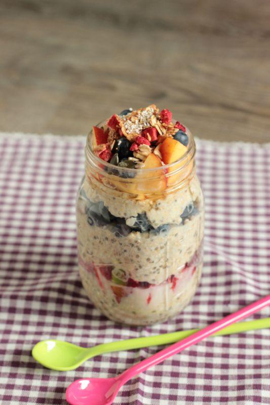 Gesundes Frühstück - Smoothies,Quesadillas und Overnight Oats 3
