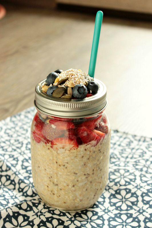 Gesundes Frühstück - Smoothies,Quesadillas und Overnight Oats 5