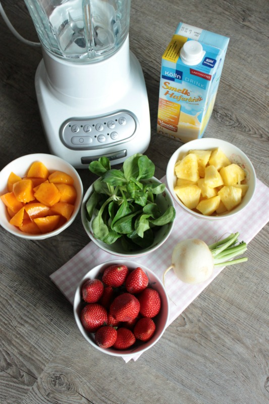 Gesundes Frühstück - Smoothies,Quesadillas und Overnight Oats 1