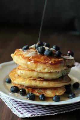 Buttermilch-Blaubeer Pancakes 4