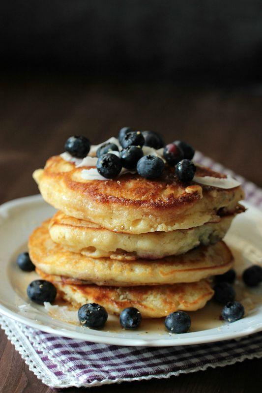 Buttermilch-Blaubeer Pancakes 6
