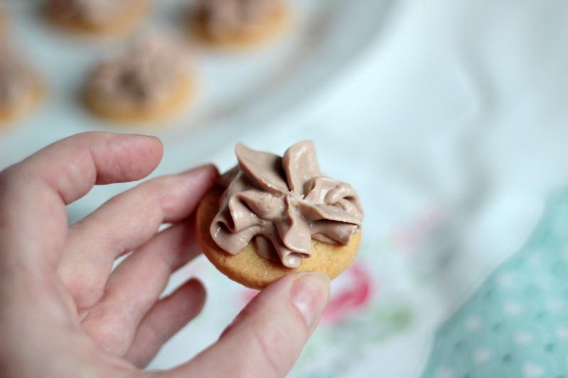 Zuckerkekse mit Nutellacreme 16