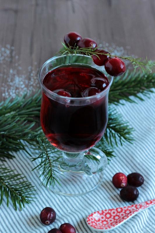 Alkoholfreier Cranberry Punsch / Adventskalendertürchen 15 26