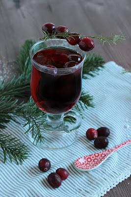 Alkoholfreier Cranberry Punsch / Adventskalendertürchen 15 21