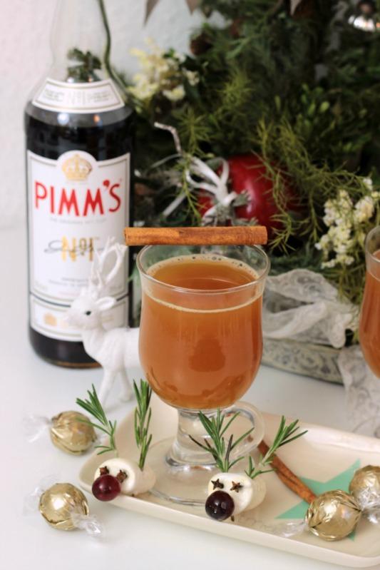 Adventskalendertürchen Nr.23- Hot Pimms, Eierpunsch mit Baileys und Fliederbeerpunsch 4
