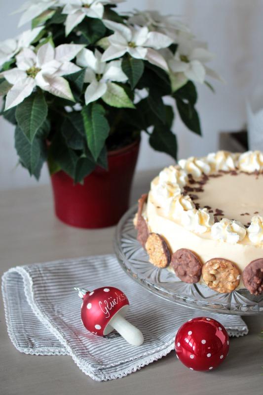 Nuss-Eierlikör-Torte mit Florentinern / Adventskalendertürchen Nr. 13 1