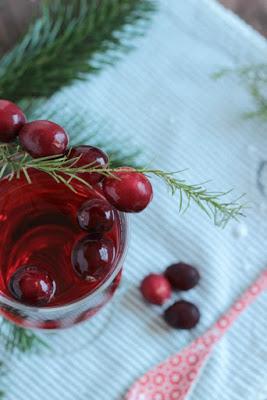 Alkoholfreier Cranberry Punsch / Adventskalendertürchen 15 24
