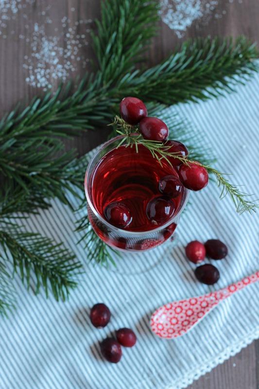 Alkoholfreier Cranberry Punsch / Adventskalendertürchen 15 22