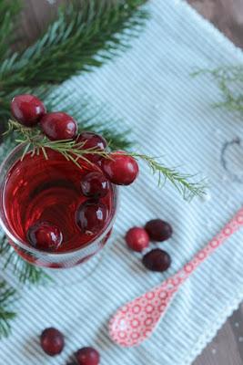 Alkoholfreier Cranberry Punsch / Adventskalendertürchen 15 20