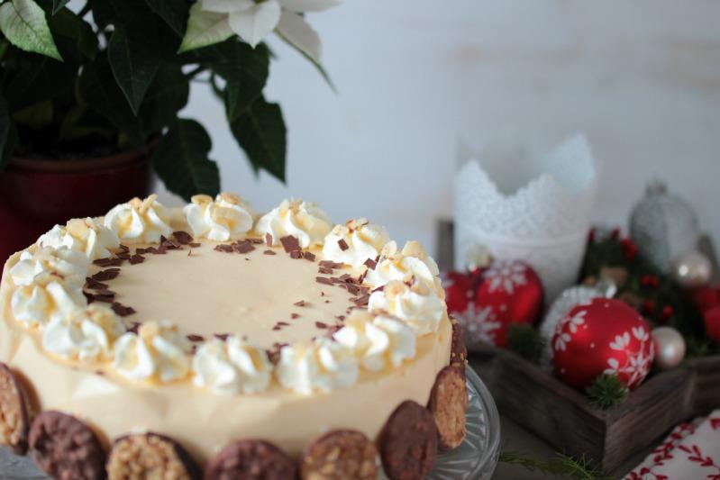 Nuss-Eierlikör-Torte mit Florentinern / Adventskalendertürchen Nr. 13 9
