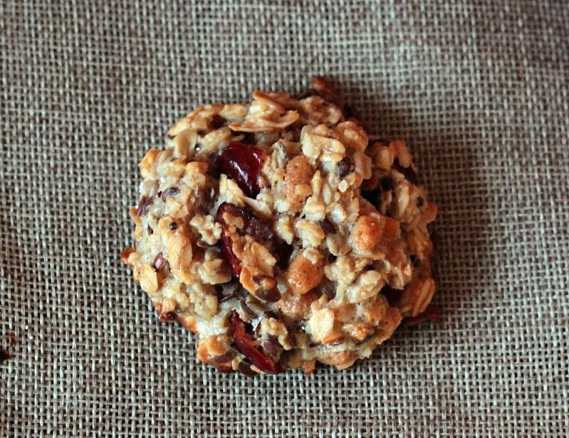 Kalendertürchen 1 - Frühstücks-Kekse mit Cranberrys und Kürbiskernen* 7