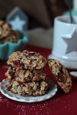 Kalendertürchen 1 - Frühstücks-Kekse mit Cranberrys und Kürbiskernen* 6