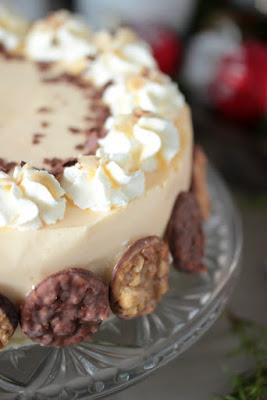 Nuss-Eierlikör-Torte mit Florentinern / Adventskalendertürchen Nr. 13 3