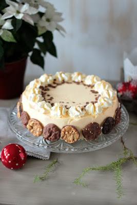 Nuss-Eierlikör-Torte mit Florentinern / Adventskalendertürchen Nr. 13 4
