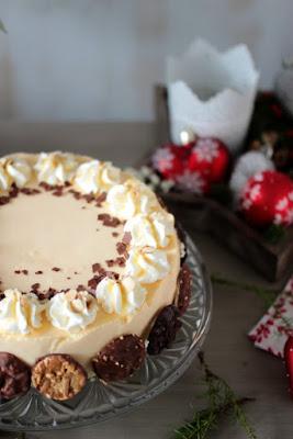 Nuss-Eierlikör-Torte mit Florentinern / Adventskalendertürchen Nr. 13 6