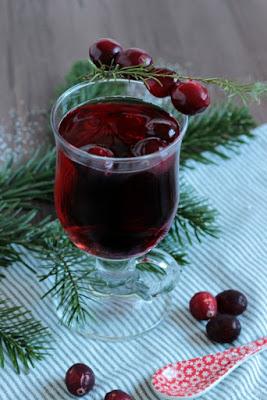 Alkoholfreier Cranberry Punsch / Adventskalendertürchen 15 25