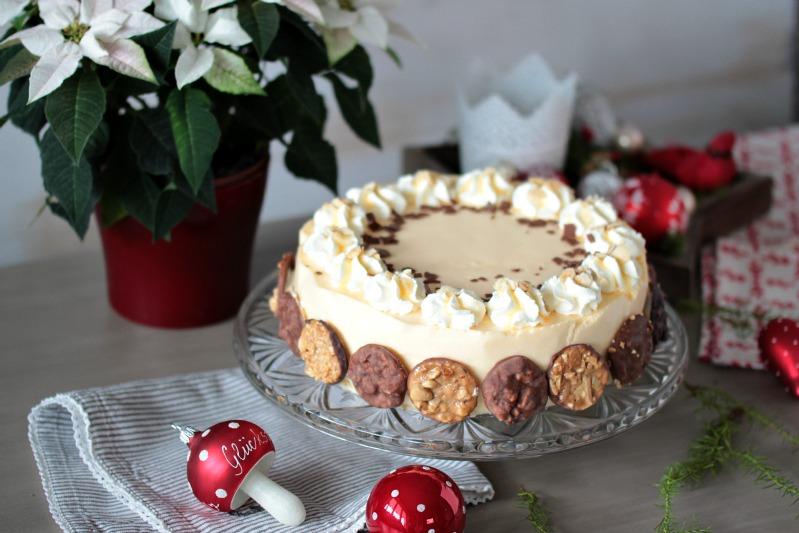 Nuss-Eierlikör-Torte mit Florentinern / Adventskalendertürchen Nr. 13 2