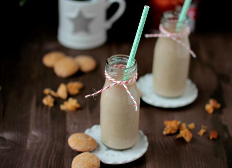 Bananen-Lebkuchen-Milchmix 4