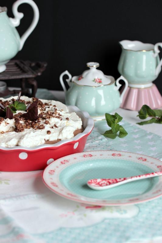 Chocolate Mint Cream Pie oder das leckerste Schoko-Minze Dessert der Welt * 49