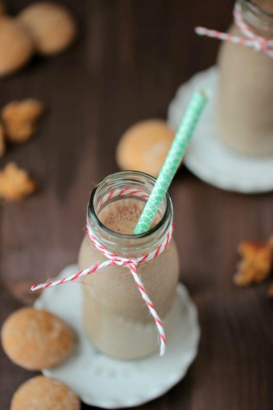 Bananen-Lebkuchen-Milchmix 3