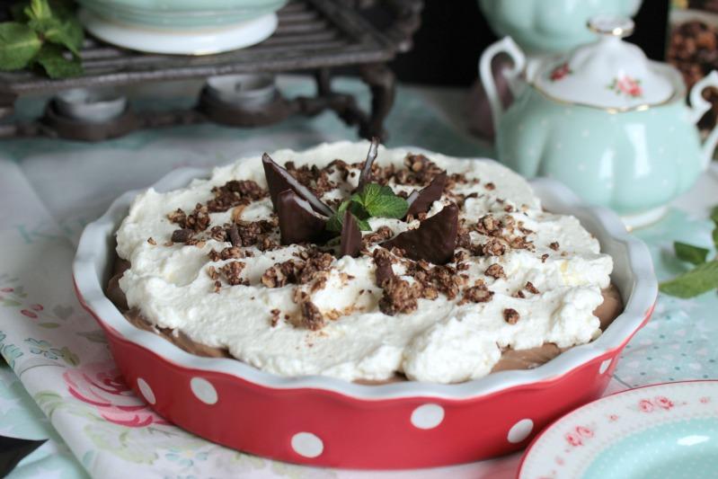 Chocolate Mint Cream Pie oder das leckerste Schoko-Minze Dessert der Welt * 47