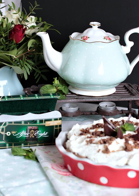 Chocolate Mint Cream Pie oder das leckerste Schoko-Minze Dessert der Welt * 55