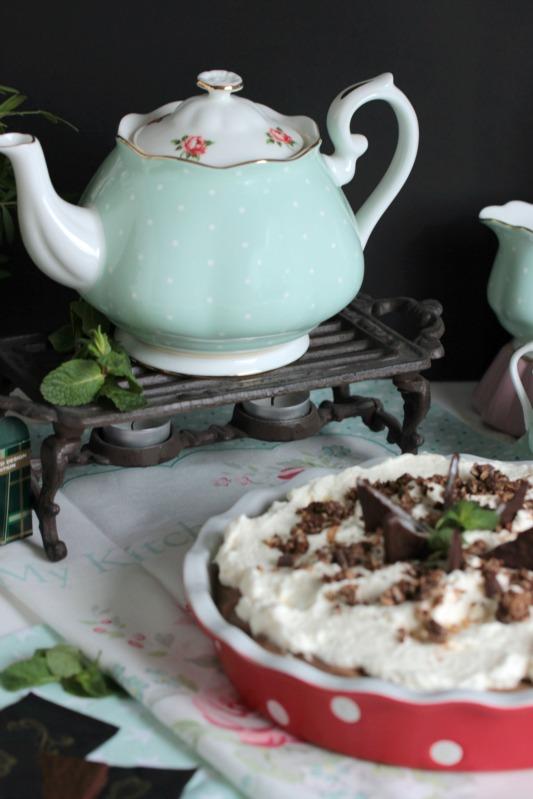 Chocolate Mint Cream Pie oder das leckerste Schoko-Minze Dessert der Welt * 48
