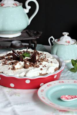 Chocolate Mint Cream Pie oder das leckerste Schoko-Minze Dessert der Welt * 51