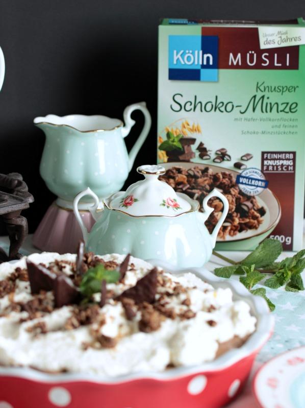 Chocolate Mint Cream Pie oder das leckerste Schoko-Minze Dessert der Welt * 54