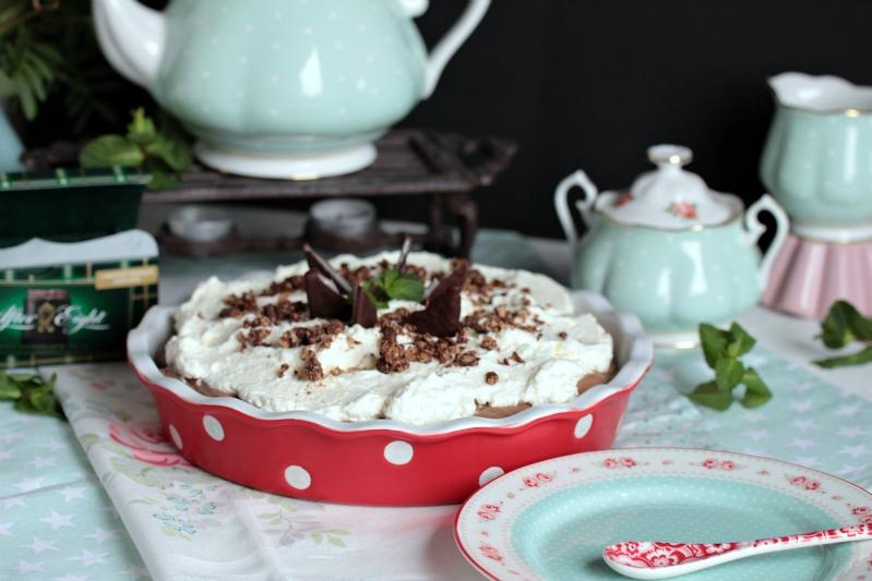 Chocolate Mint Cream Pie oder das leckerste Schoko-Minze Dessert der Welt * 41
