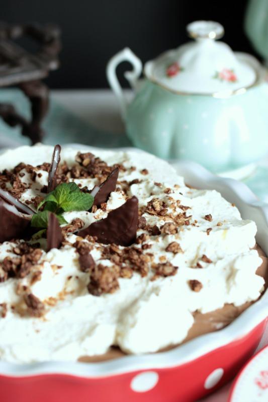 Chocolate Mint Cream Pie oder das leckerste Schoko-Minze Dessert der Welt * 42
