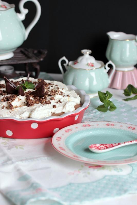 Chocolate Mint Cream Pie oder das leckerste Schoko-Minze Dessert der Welt * 43