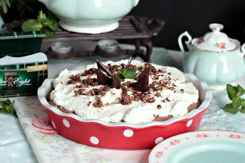 Chocolate Mint Cream Pie oder das leckerste Schoko-Minze Dessert der Welt * 50