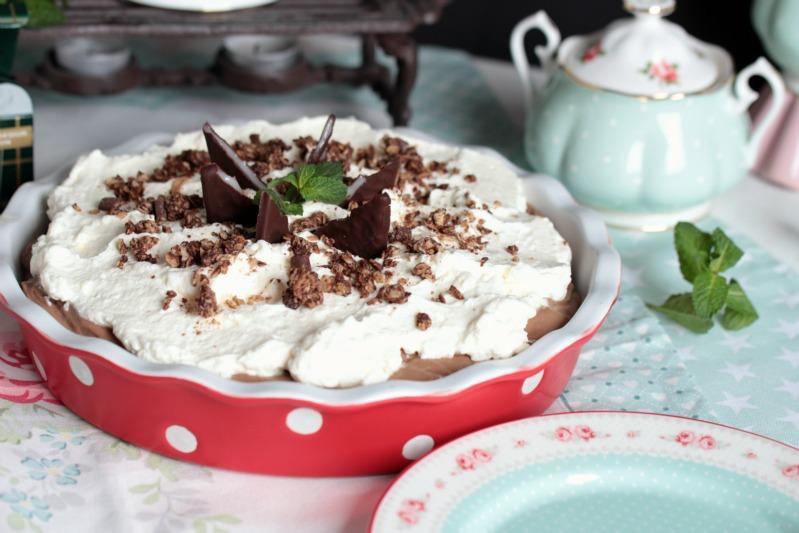Chocolate Mint Cream Pie oder das leckerste Schoko-Minze Dessert der Welt * 53