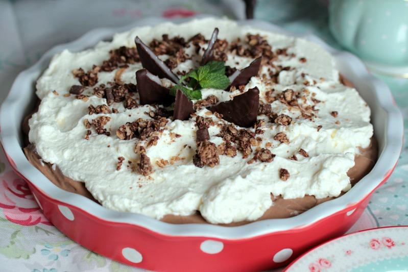 Chocolate Mint Cream Pie oder das leckerste Schoko-Minze Dessert der Welt * 56