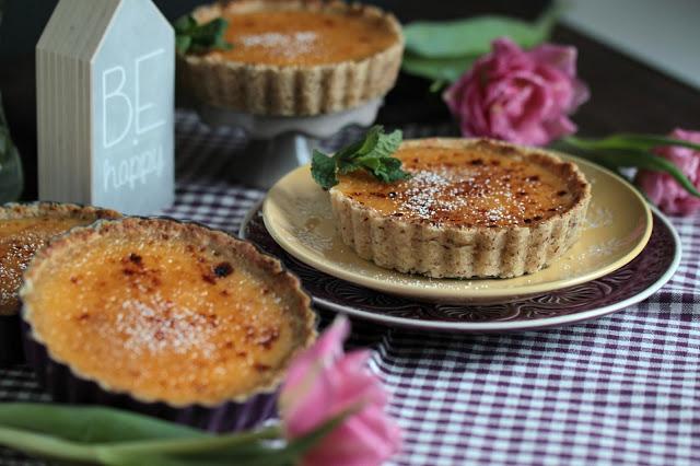 Karamelisierte Tartelettes Crémeux au Citron 3