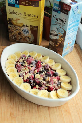 Baked Oatmeal - das gesunde Frühstück mit dem extra Schokokick* 4