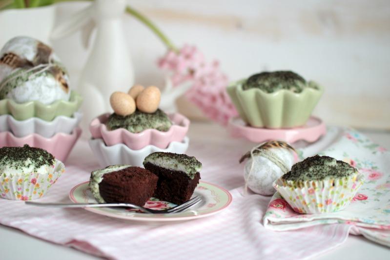 Österliche Mooskuchen-Muffins 43