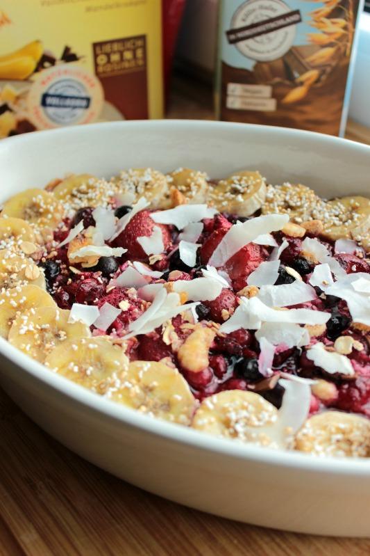 Baked Oatmeal - das gesunde Frühstück mit dem extra Schokokick* 10