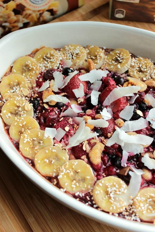 Baked Oatmeal - das gesunde Frühstück mit dem extra Schokokick* 5