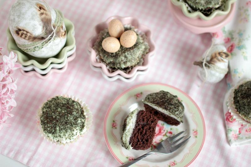 Österliche Mooskuchen-Muffins 40